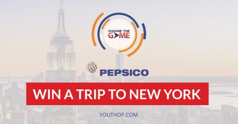 The PepsiCo Change The Game Challenge 2017 – Win a trip to New York