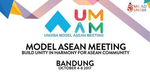 UNISBA Model ASEAN Meeting 2017 in Indonesia
