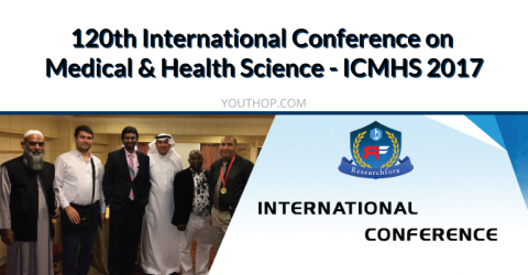 120th International Conference on Medical & Health Science – ICMHS 2017