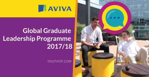 Aviva Global Graduate Leadership Programme 2017-2018