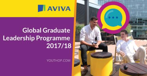 Aviva Global Graduate Leadership Programme 2017-2018