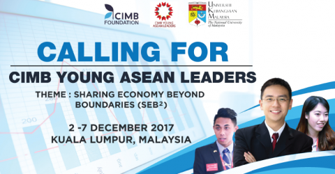 CIMB Young ASEAN Leaders (CYAL) 2017 in Malaysia