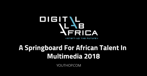 Digital Lab African Talent in Multimedia 2018 in Africa