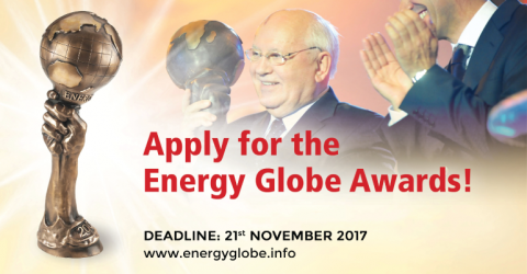 ENERGY GLOBE Award 2018 in Tehran