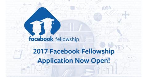 Facebook Fellowship Program 2017