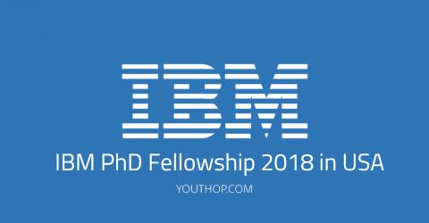 IBM PhD Fellowship 2018 in USA