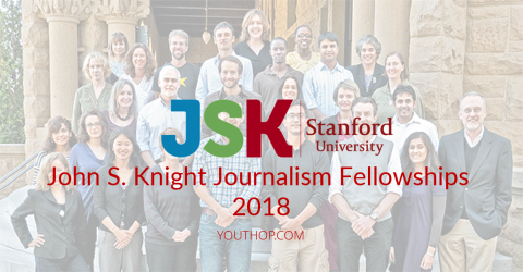 John S. Knight Journalism Fellowships 2018 in Stanford University