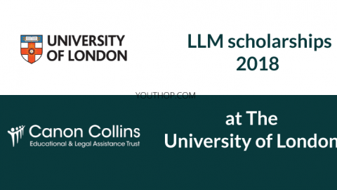LLM scholarships 2018 at The University of London