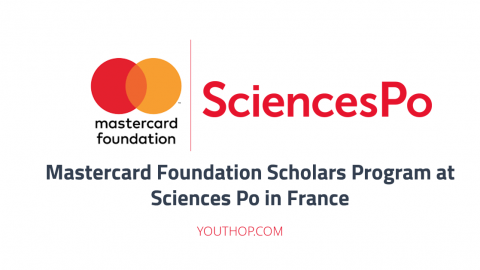 Mastercard Foundation Scholars Program at Sciences Po 2018 in France