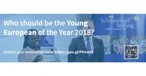 Nominations open for the Young European of the Year 2018