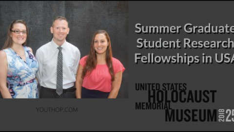 Summer Graduate Student Research Fellowship in USA