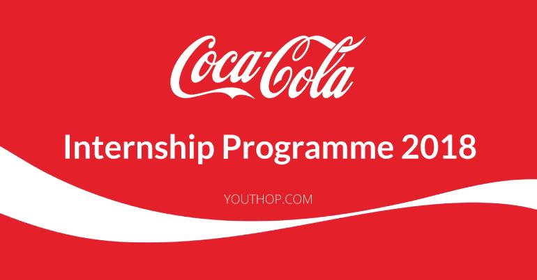 The Coca-Cola Company internship programme 2018 - Youth ...