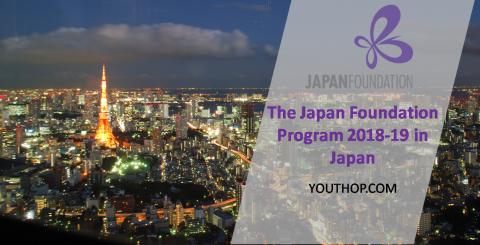 The Japan Foundation Program 2018-19 in Japan