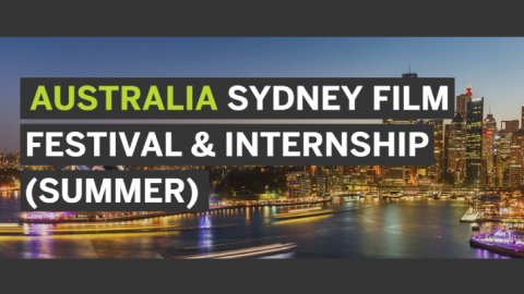 The Sydney Film Festival and Internship Program 2018 (Summer)