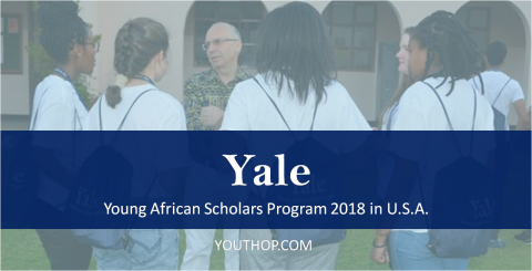 Yale Young African Scholars Program 2018 in U.S.A.