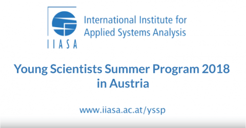 Young Scientists Summer Program 2018 in Austria