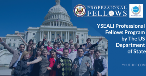 YSEALI Professional Fellows Program by The US Department of State