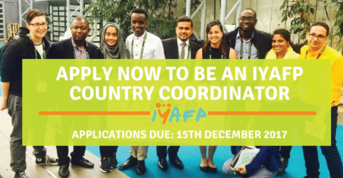 Call for New Cohort of Country Coordinators for IYAFP