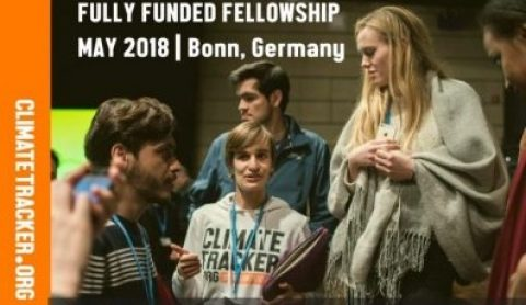 Writing Fellowship at Climate Tracker 2018