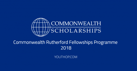 Commonwealth Rutherford Fellowships Programme 2018