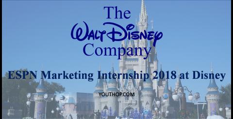 ESPN Marketing Internship 2018 at Disney