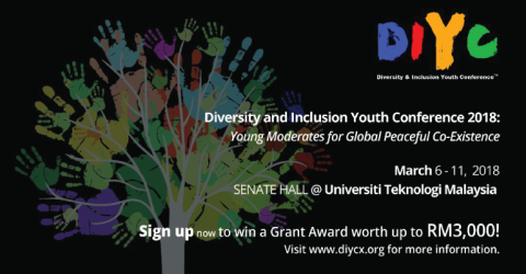 Diversity and Inclusion Youth Conference 2018 in Malaysia