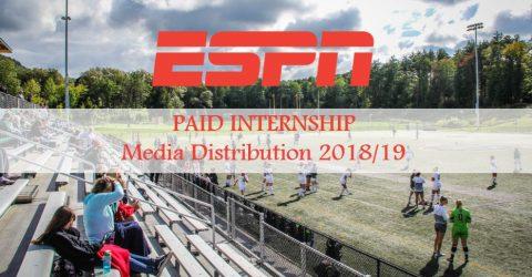 ESPN Media Distribution Internship 2018/19
