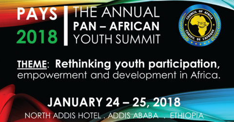 Pan-African Youth Summit (PAYS) 2018 in Africa