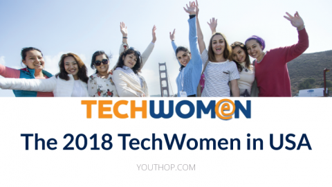 The 2018 TechWomen in USA