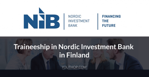 Traineeship in Nordic Investment Bank, Finland