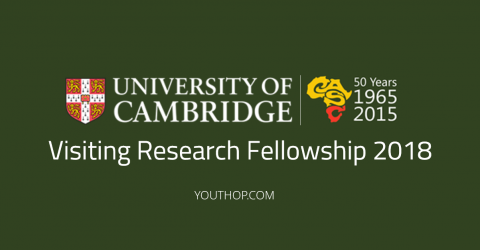Visiting Research Fellowship 2018 in University of Cambridge