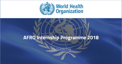 WHO AFRO Internship Programme 2018