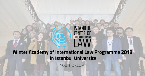 Winter Academy of International Law Programme 2018 in Istanbul University