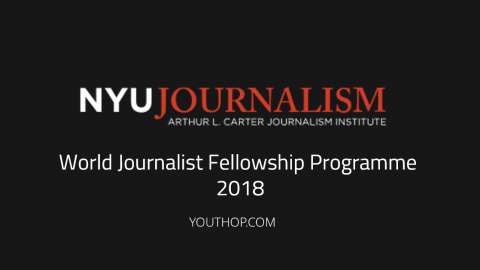 World Journalist Fellowship Programme 2018 in USA
