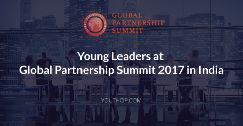 Young Leaders at Global Partnership Summit 2017 in India