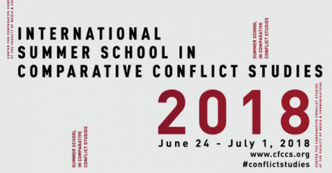2018 International Summer School in Comparative Conflict Studies