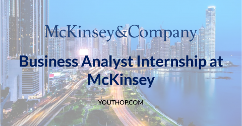 Business Analyst Internship at McKinsey