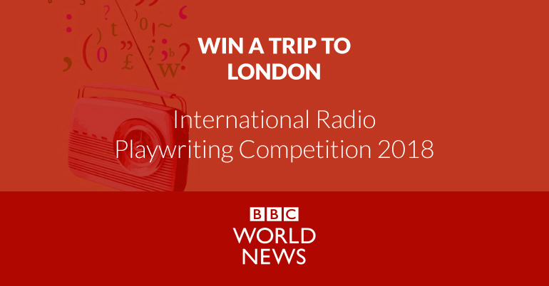 International Radio Playwriting Competition 2018 and win a