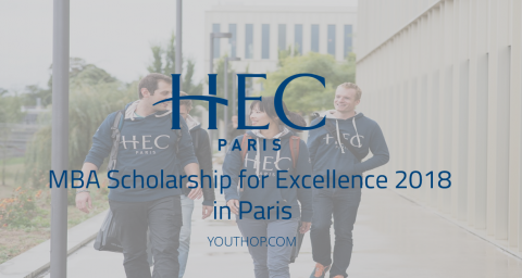 MBA Scholarship for Excellence 2018 in Paris