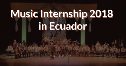 Music Internship 2018 in Ecuador