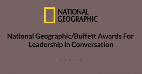 National Geographic/Buffett Awards For Leadership in Conversation