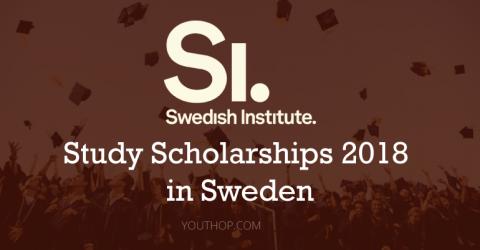 Swedish Institute Study Scholarships 2018 in Sweden