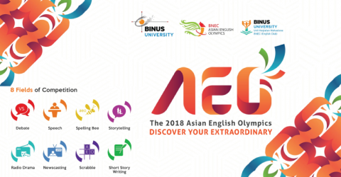 The 2018 Asian English Olympics in Indonesia