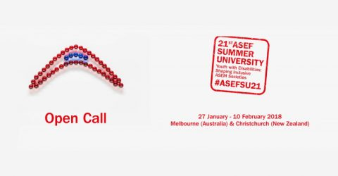 Open Call for the ASEF Summer University (ASEFSU) 2018 in Australia and New Zealand