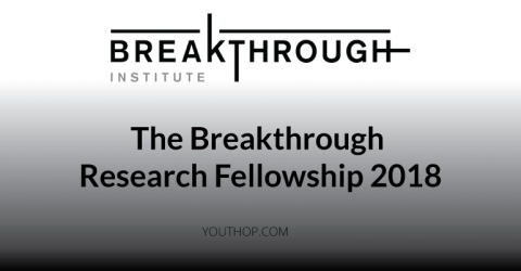 The Breakthrough Research Fellowship 2018
