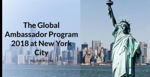 The Global Ambassador Program 2018 at New York