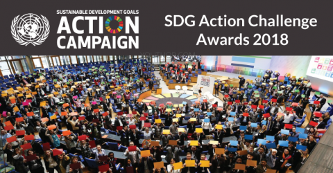 UN SDG Action Challenge Awards 2018