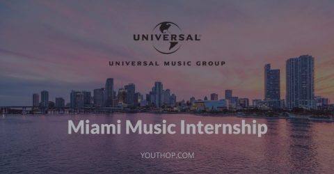 Miami Music Internship in Universal Music Group