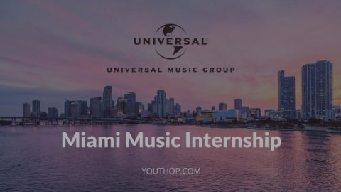 Miami Music Internship in Universal Music Group