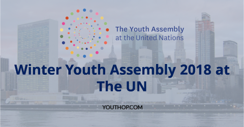 Winter Youth Assembly 2018 by The United Nation
